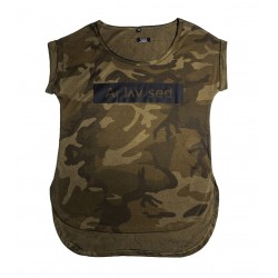 Camouflage Shirt Women