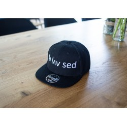 Kids Cap – Black (Snapback)